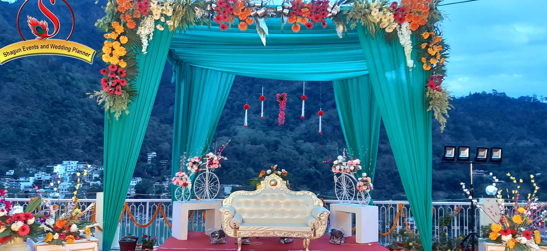 Mesmerizing venues for wedding & parties